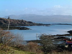View over the Sound of Sleat