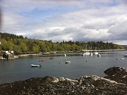 Armandale Bay with Sleat Peninsular behind