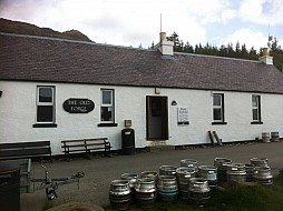 The Old Forgeat Inverie - britains remotest pub!
