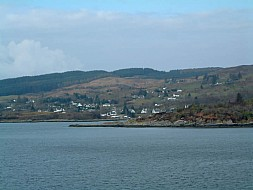 Coming on the ferry from Mallaig to Armandale