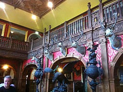 The Great Hall at Kinloch Castle