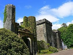 Armandale Castle front entrance