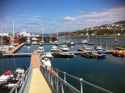 Brand new Marina at Mallaig