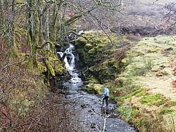 Waterfall between Ardvasar and Aird